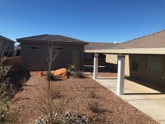 Improved Landscape Addition Patio and Garage