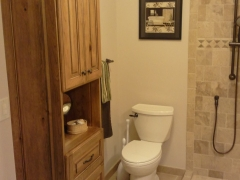 Cabinets Three-Quarter Bathroom