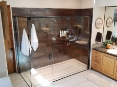 Spacious Bathroom Standup Shower