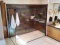 Spacious Bathroom Standup Shower