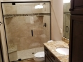 Bathroom with Mosaic Accent Shower