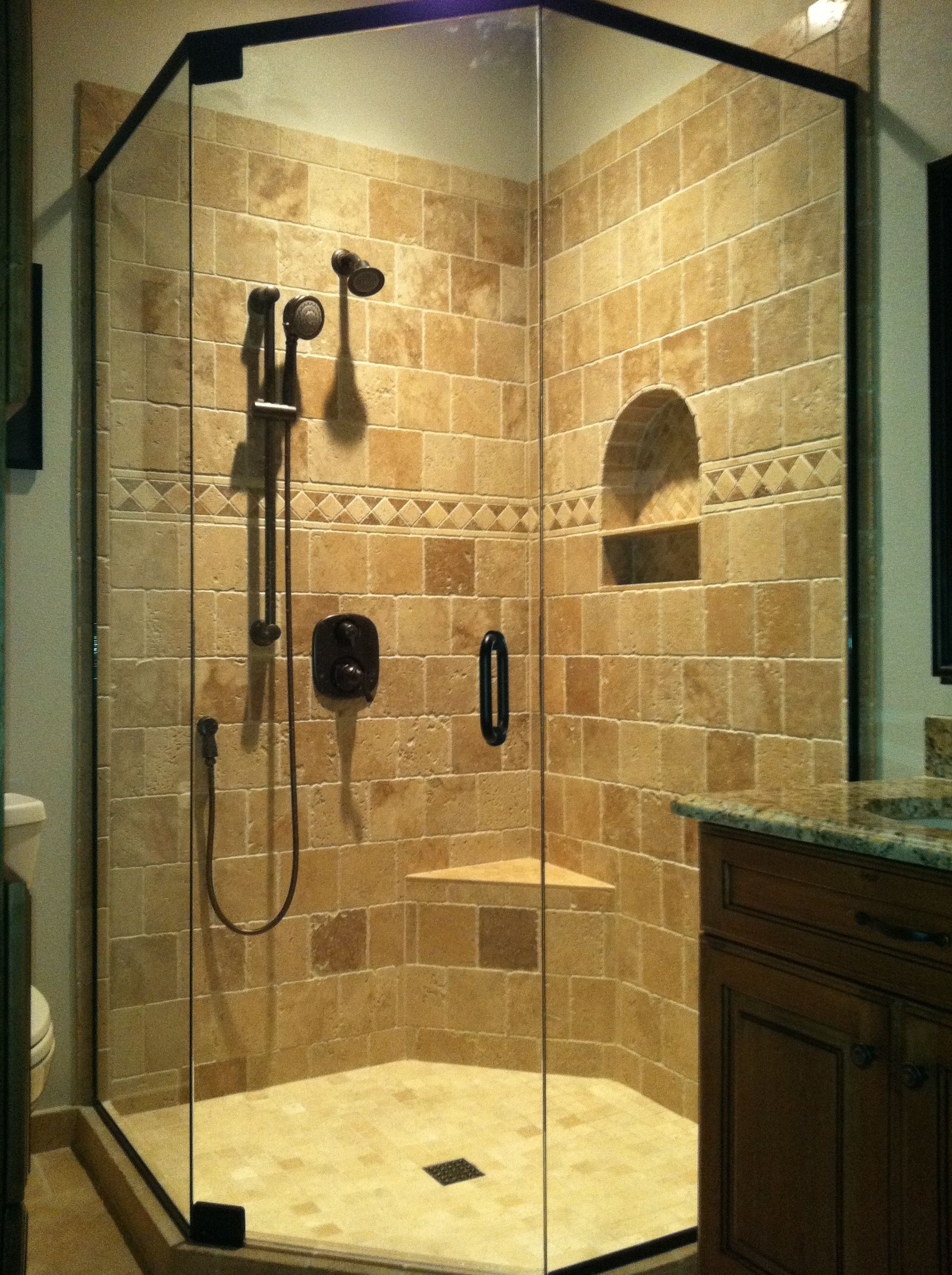Tiled Shower Bathroom