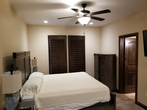 Finished Bedroom - Construction