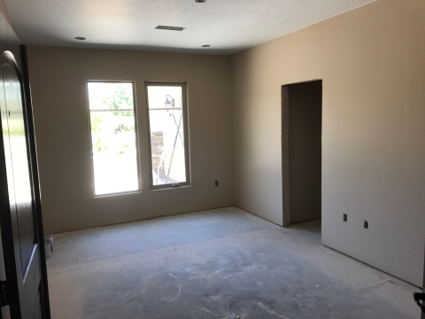 Before Bedroom -  Construction