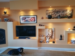 Remodeled Wall