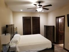 bedroom remodel finished
