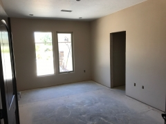 bedroom remodel process