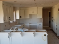 Cabinets Installed Remodel Process