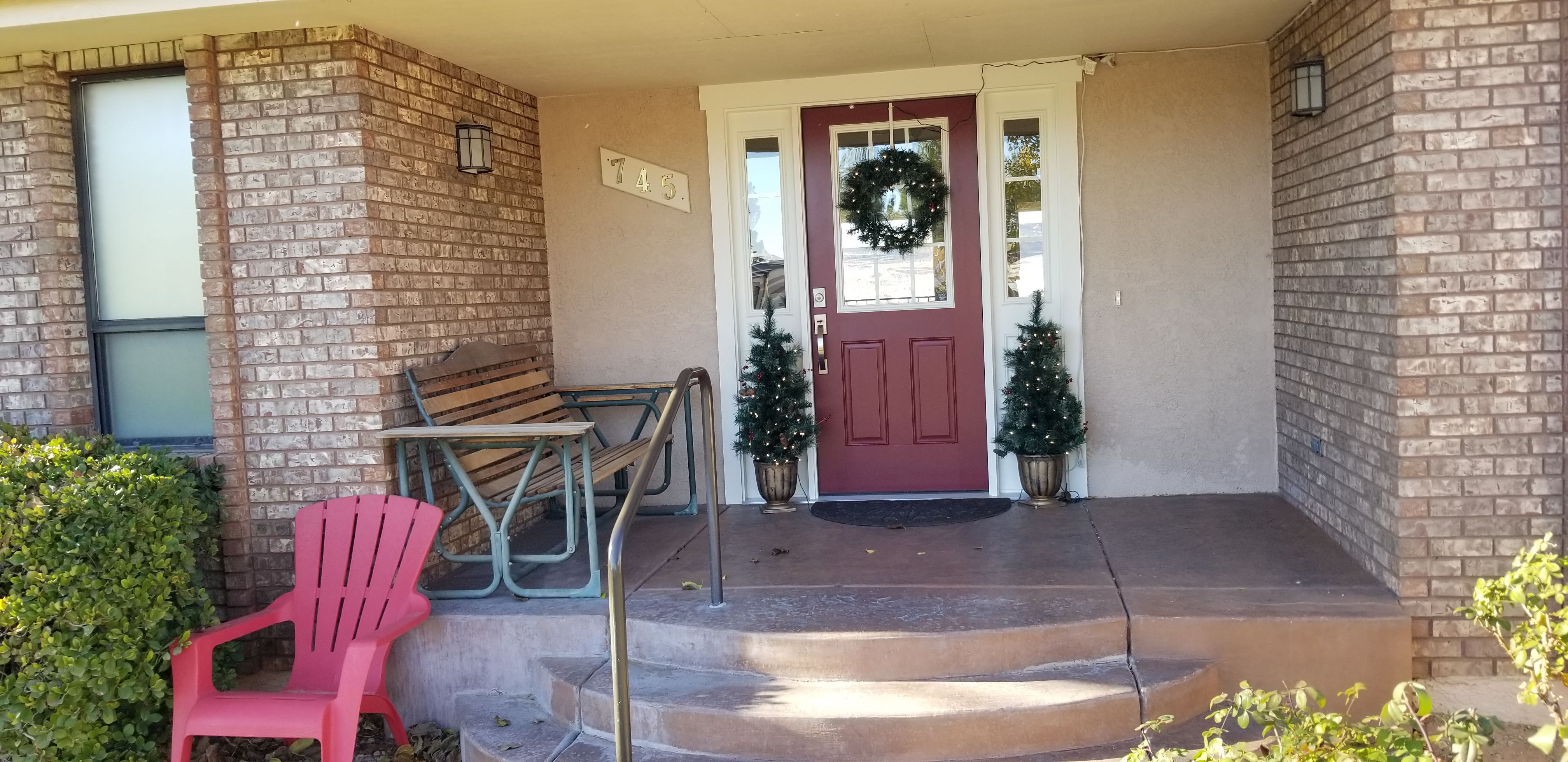 Entryway Remodeled Front Door