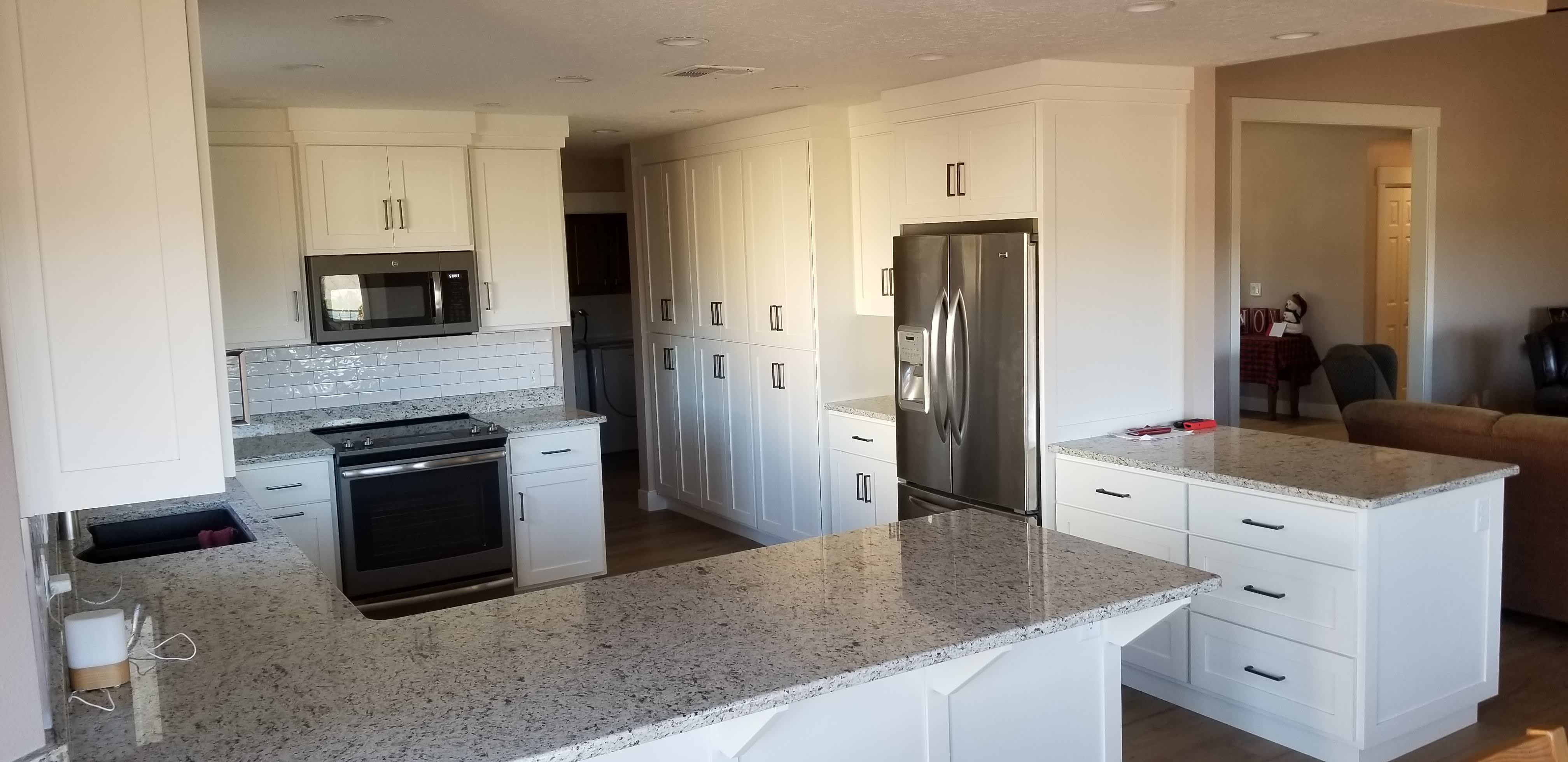 Gray/White Style Kitchen Upgrade
