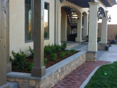 Addition Trellis Brick Path